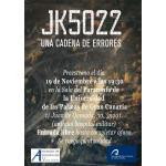 Estreno en Las Palmas del documental JK5022 Una Cadena de Errores